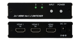 HDMI switch / växel  2In, 1ut, v1.3