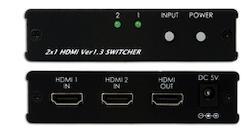 HDMI switch / växel  2In, 1ut, v1.3