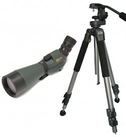 Naturescope 20-60X85WP med vårt stativ + 128RC