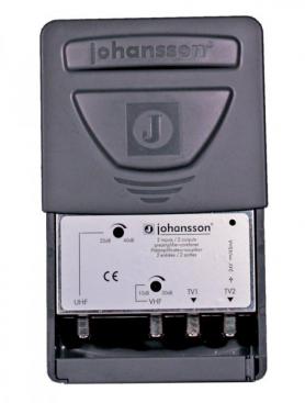 Johansson Antennförstärkare UHF / VHF 2 utgångar.