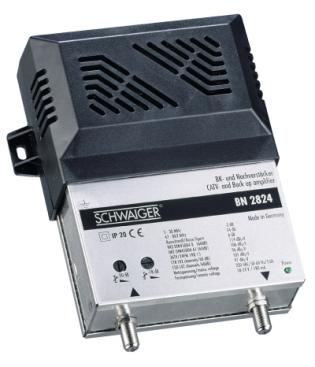 Schwaiger BN-2824 med slope antennförstärkare comhem