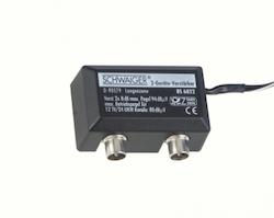 BS-6822 Antennsplitter aktivt t-kors