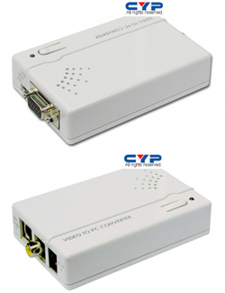 CM-396A video / SVHS till VGA konverter