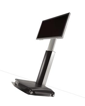 Vogels PFT 2510 Display Trolley Höjd över golv max 177cm