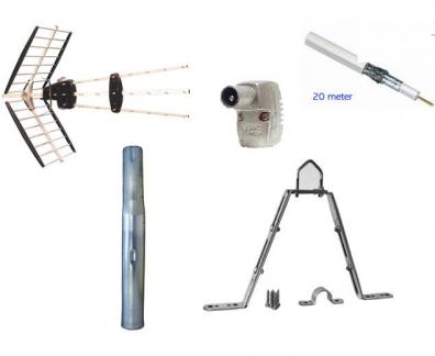 Antennpaket Standard med Fästen
