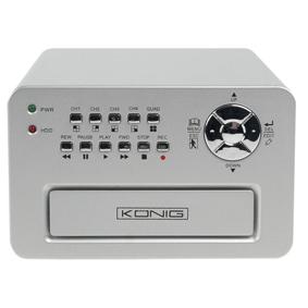 König 4-kanal hårddisk-inspelare övervakning