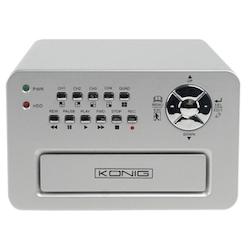 4-kanal hårddisk-inspelare övervakning