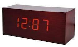Wooden Clock Körsbär DEMO