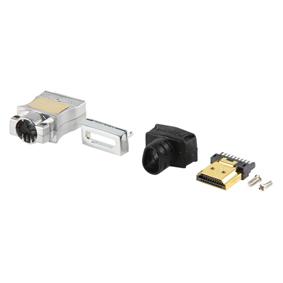 Digitaltvexperten HDMI metall kontakt för att löda