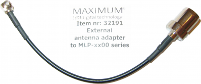 Maximum Antennadapter MLP-serien