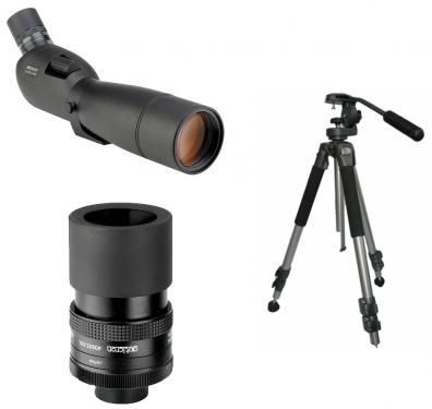 Opticron ES-80 GA ED Zoom V3 Paket SDL-ZOOM stativ small