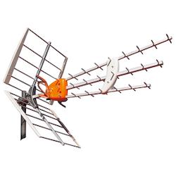 DAT-HD 45 17db + 12db aktiv antenn