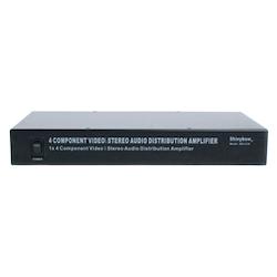 SB-3730 Komponent Splitter 1:5 med Audio