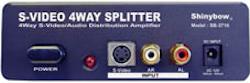 SB-3716 Dist.förstärkare S-VHS med Audio