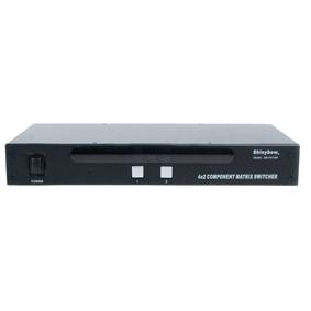 SB-5470M Komponent Matrix switch 4:2 Audio