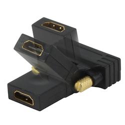 HDMI hona-DVI hane vinklingsbar