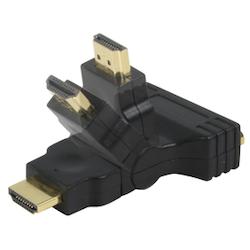 DVI hona-HDMI hane vinklingsbar