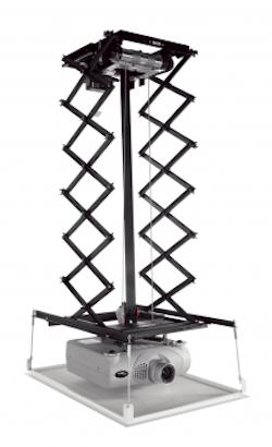 PPL 2525 Projektor hisssystem 1,8m svart