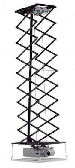 PPL 3535 Projektor hisssystem 4,2m svart