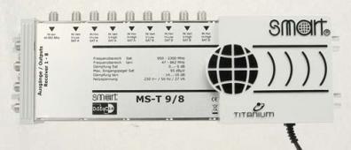Smart Multiswitch Titanium MS-T98