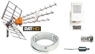 Televés DAT-HD 45 16db Förstärkningspaket 220V 20m LTE