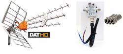 DAT-HD 45 16db Förstärkningspaket 12V LTE