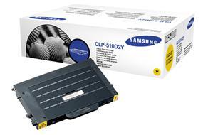 Samsung CLP-510D2Y Tonerkassett gul 2.000 sidor