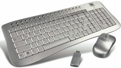 Speed-Link SL-6496 Wireless Flat metal desktop