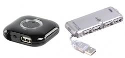 Adapter för att dela  USB-prylar över nätverk.