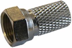 F-kontakt för 4mm kabel
