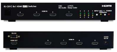 HDMI 1.3 switch / växel 8:1