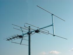 Kombiantenn UHF / VHF 31 element