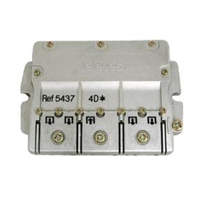 Televés 5437 F-smart PRO splitter 1:4 DC-PASS