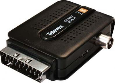 Televés DTR-711701 Scartmottagare med USB