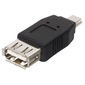 Digitaltvexperten USB adapter hona till USB mini hane