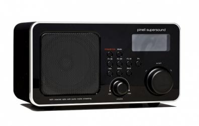 Supersound iRadio DAB /FM / Internetradio Svart