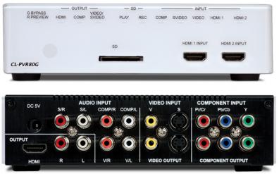 CYP/// CL-PVR80G HDTV-Inspelare 80GB hårddisk