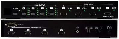 OR-HD44E HDMI 1.3 Matrix switch / växel