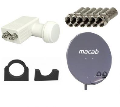 Macab Uppgradering Villapaket till två satellitpositioner