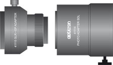 41114 + 41115 Fotoadapter Push fit SDL