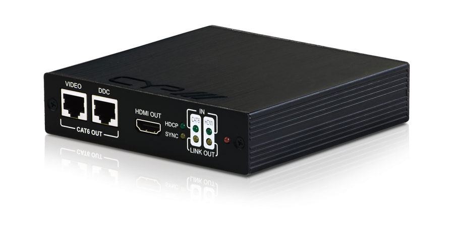 CYP/// HDMI/CAT6 till HDMI/CAT6 Kaskad