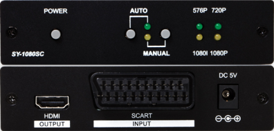 CYP/// Scart RGB till HDMI