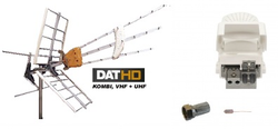 DAT-HD Mix med LTE 16db Förstärk.paket 220V