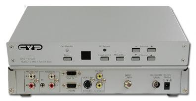 Cypress T. CSC-1205MT Tuner/konv. CV/SVHS till VGA