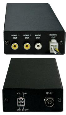 CMT-1C Analog Tuner för bil PAL / SECAM