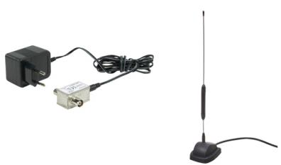 König Aktiv inomhusantenn spröt 220V UHF / VHF