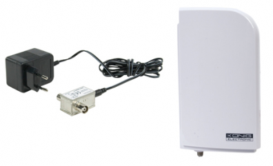 Aktiv Utomhusantenn UHF / VHF 220V