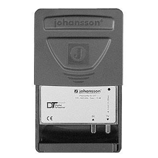 Johansson Mastförstärkare UHF / VHF 5-24V 12 volt 15 db