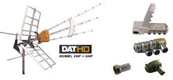 DAT-HD Mix med LTE 16+20db Förstä.paket 220V