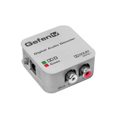 Gefen optiskt / koax ljud till analogt ljud 5.1 GTV-DD-2-AA